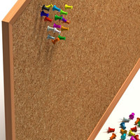 pinboard and pushpin