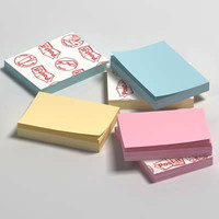 3d postit office model