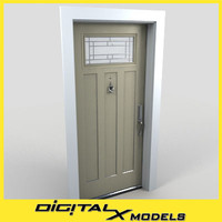 Residential Entry Door 11