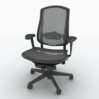 herman miller celle task max - Herman Miller Celle Chair... by Bluespring Creative