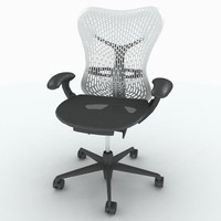 herman miller mirra chair 3d max