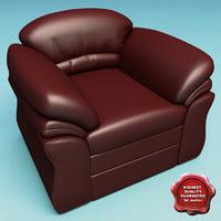 armchair v16 3d 3ds
