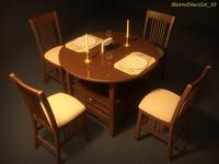 Bistro Diner Set 01