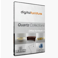 dxf office furniture vol 1