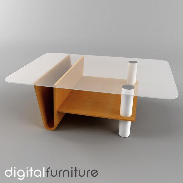 3d Living Room Vol 2 Model