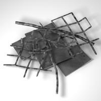 metal debris obj