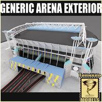 Generic Arena Exterior