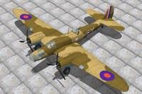 3d martin maryland bomber