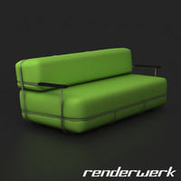 Pebble, Bla Station Sofa
