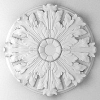 decorative rosette 3d max
