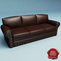 sofa v27 3d 3ds