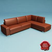 3d model sofa v34