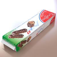 3d model biscuit