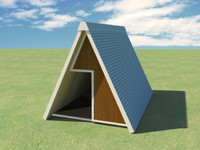 3d dog kennel