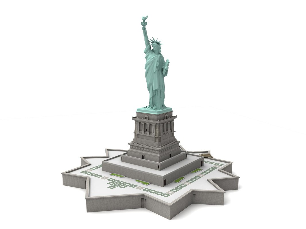 searched 3d models for gangsta of liberty