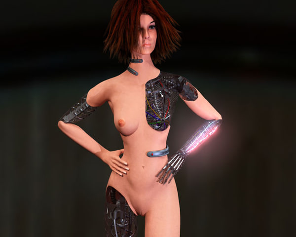 3d woman robot - Droid Woman.rar... by Bryan Labarrere