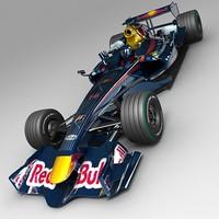 3d model grand prix redbull