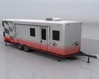 Toy Hauler 3d model