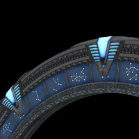 3d stargate atlantis model