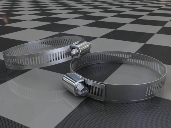 3d hose clamp - hose_clamp.zip... by redline_or_nothing