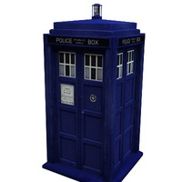 Doctor Who TARDIS new 2010 version