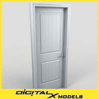 3d model residential interior door 10