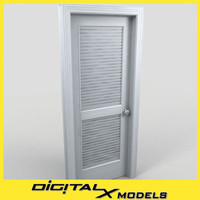 3d model of residential interior door 20