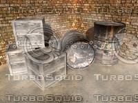 crates barrels dxf free