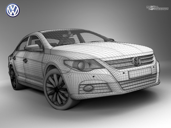 cc passat 3ds - VW Passat CC... by Digital Impression