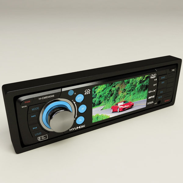 cd tuner hyundai h-cmd4008 max - CD Tuner Hyundai H-CMD4008... by 3d_molier