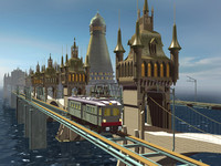 3d sun city model