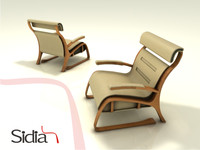 chair designed concept dxf