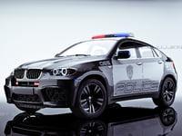 Police Car BMW X6