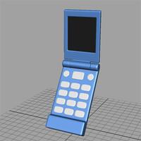 cellular phone 3d model