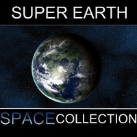3d max super planet earth