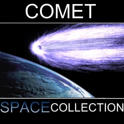 3d comet systems model - Comet... by Michael Taylor