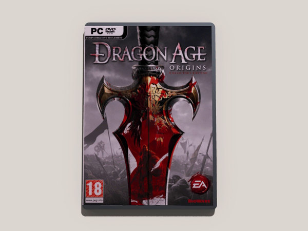 box dragon age pc 3ds - PC-DVD Dragon Age... by CPCTyler