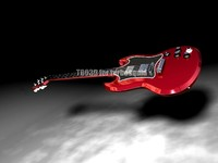 3d guitar highres electric