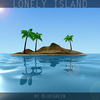 3dsmax lonely island