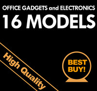 3D Model Office Electronics and Gadgets