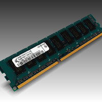 3d model ram ddr3 512mb pc3-10600