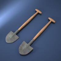 shovel 3d max