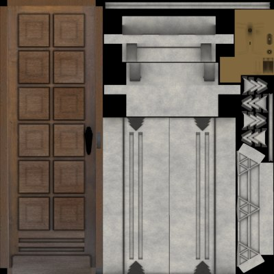 maya solid wooden door - Solid Door... by Thaumaturgy