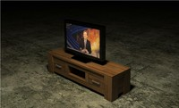 3d hubert television table flatscreen model