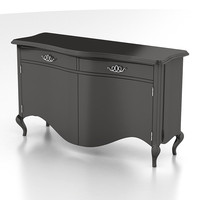 3d model cantori commode raffaello laccato