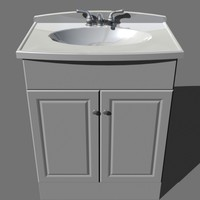 bathroom vanity 3d model