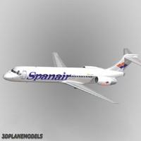 B717-200 Spanair