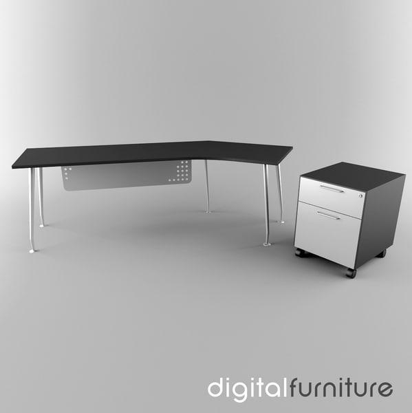 Office Vol 2 3d 3ds