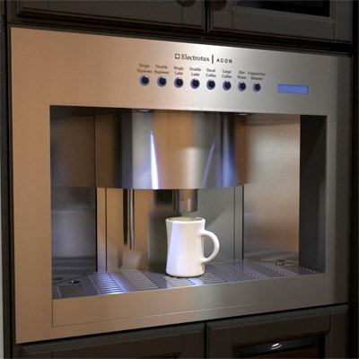 max built in coffee maker