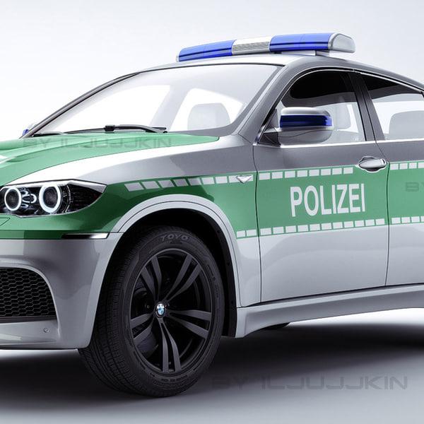 Bmw X6 Video Review: 3ds Polizei Car X6